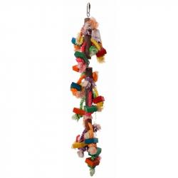 Tour de bois colorés - Tower