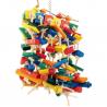 Pianossimo Sisal jouet pour perroquet Zoo Max