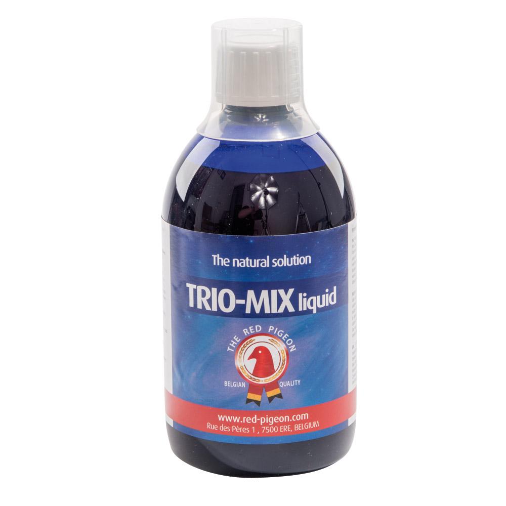 Trio-mix liquide Red Animals pour pigeons et oiseaux