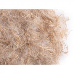 Mix Jute et poils de chèvres blancs avec formule active, anti poux