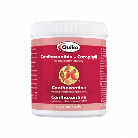 Quiko Canthaxanthine pure - Carophyll red 500 gr