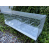 Domus Molinari Cova 120 tiroir plastique 3 compartiments et mangeoires extérieures