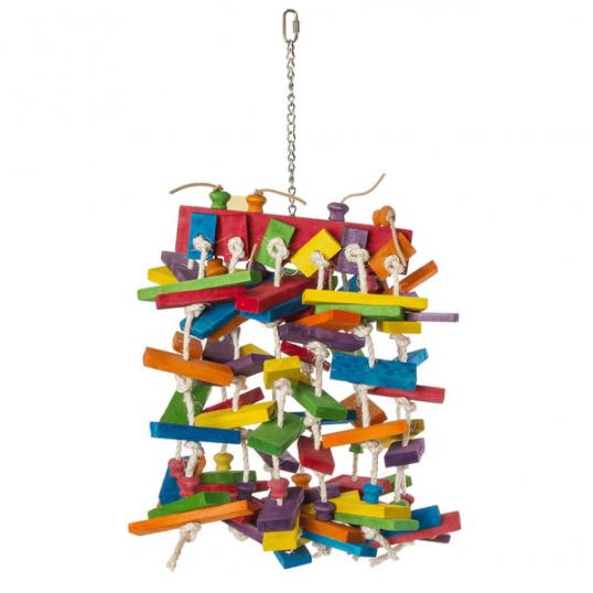 Jouet perroquet - Le Zigoteau 70cm