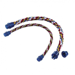 Perchoir corde couleurs - 53 cm