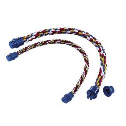 Perchoir corde couleurs - 38 cm