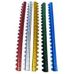 Bagues aluminium pour perruches - 20 pièces