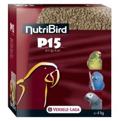 NutriBird P15 Original Perroquets Entretien - 4 kg