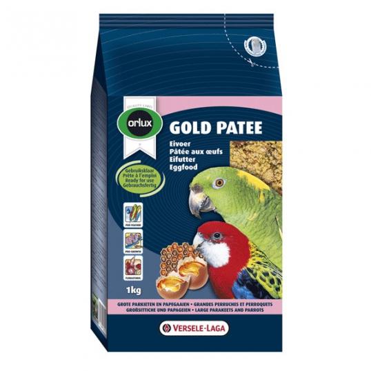 Orlux Gold Pâtée aux Oeufs Perroquets et Perruches 1 kg (877)