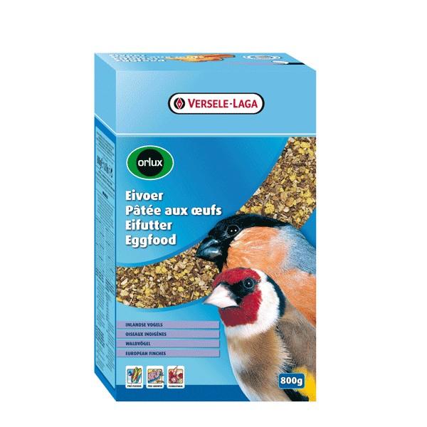 Orlux Pâtée aux oeufs oiseaux indigènes - 0,8 kg