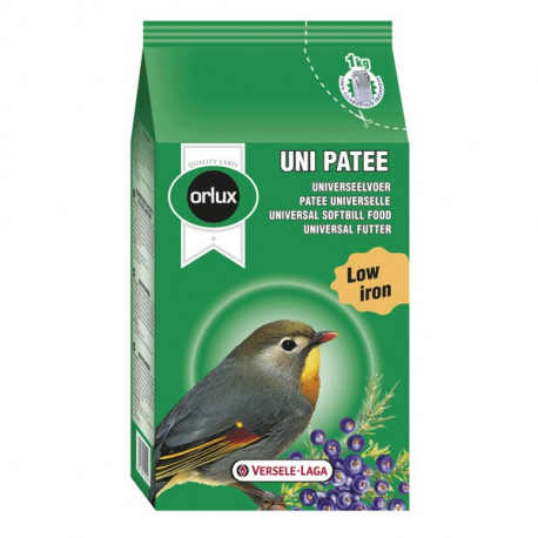 Orlux Uni Pâtée - Pâtée Universelle 1 kg (898),Orlux Uni Pâtée - Pâtée Universelle 5 kg (899)