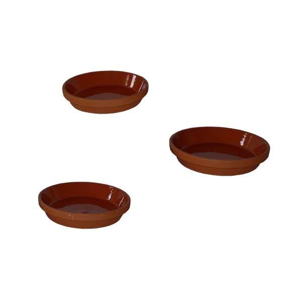 Assiette en terre cuite - 18 cm