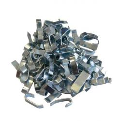 Agrafes plates - 4 mm