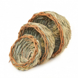 Nid en chaume Tarin, sizerin - 9 cm