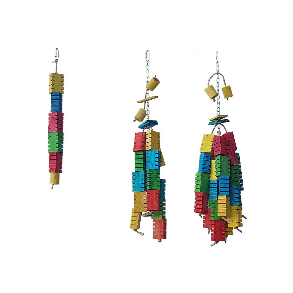 Jouet Blocs sensationnels colorés - Grand