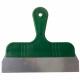 Grattoir manche plastique vert et lame inox (3914)