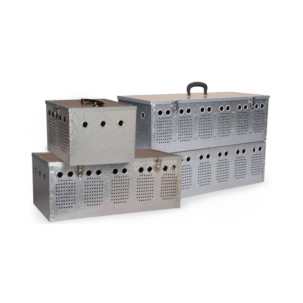 Panier de transport en aluminium - 2 compartiments