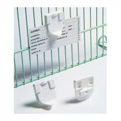 Support plastique pour fiche d'élevage - S.T.A. Soluzioni