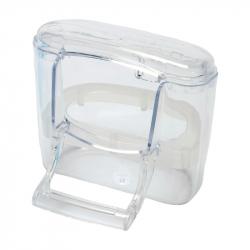 Mangeoire intérieure et extérieure transparente Bella -S.T.A. Soluzioni