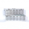 Panier de transport aluminium 12 compartiments pour pigeons