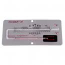 Thermomètre de contrôle sur panneau