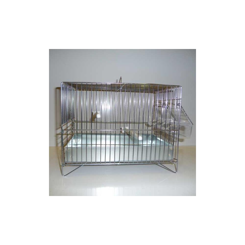 cage de chant canaris en acier galvanis. Black Bedroom Furniture Sets. Home Design Ideas