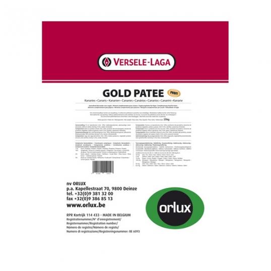 Orlux Gold pâtée jaune Profi canaris