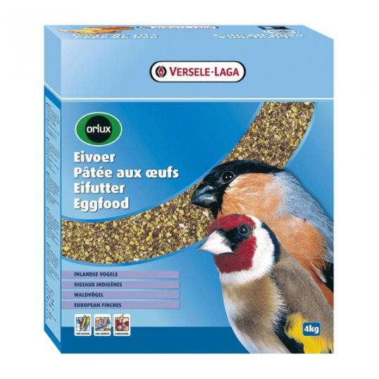 Orlux Pâtée aux oeufs oiseaux indigènes 4 kg