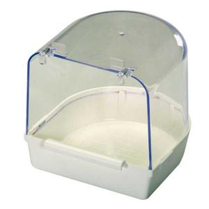 baignoire avec perchoir pour oiseaux de cage et voli re. Black Bedroom Furniture Sets. Home Design Ideas